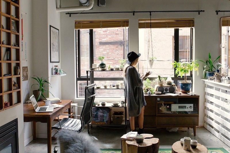 Vermeiden Sie Rückenschmerzen bei der Arbeit zu Hause